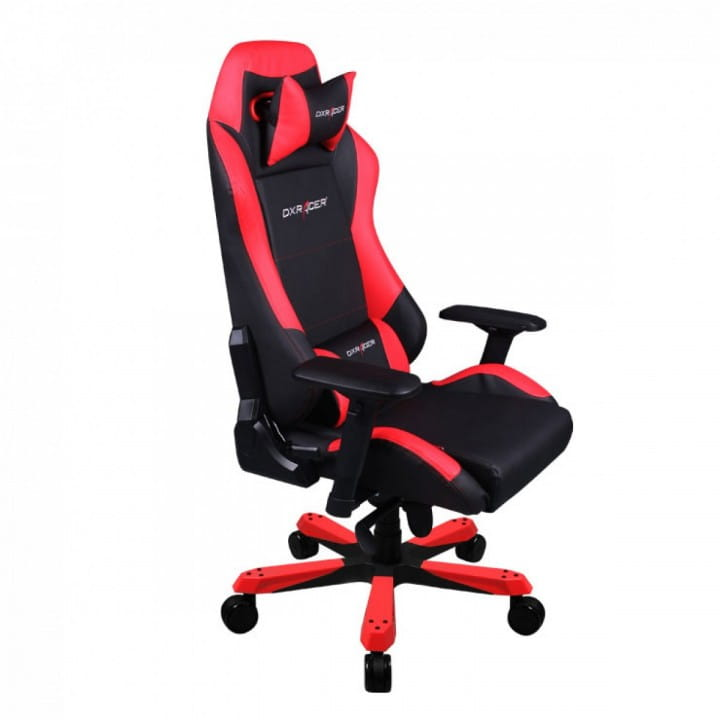 Игровое кресло DXRacer Iron OH/IS11/NR (Black/Red)