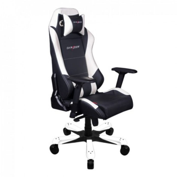 Игровое кресло DXRacer Iron OH/IS11/NW (Black/White)