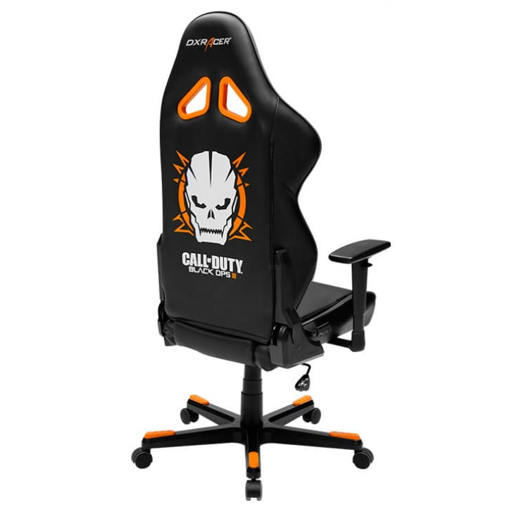 Игровое кресло DXRacer Special Edition OH/RE128/NWGO/COD (Black/White/Orange)