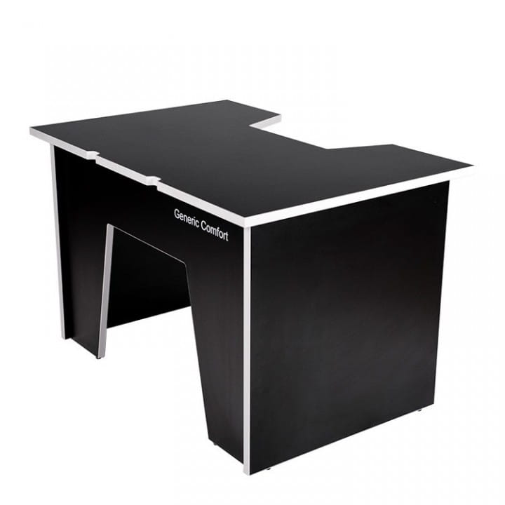 Компьютерный стол Generic Comfort Office/N/W (Black/White)