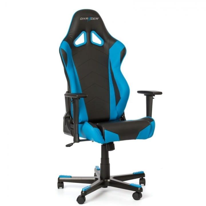 Игровое кресло DXRacer Racing OH/RE0/NB (Black/Blue)