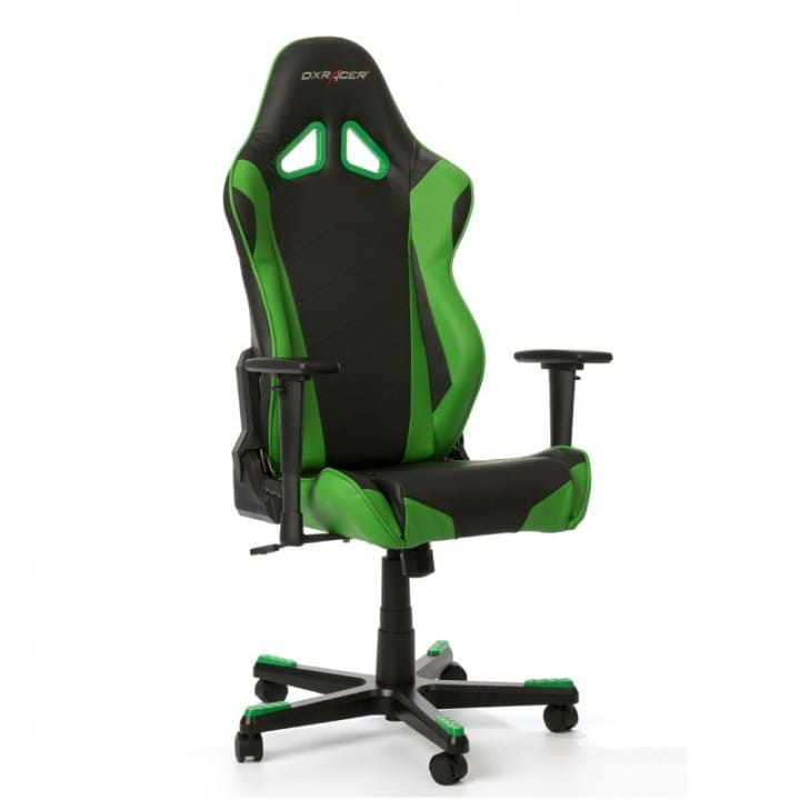 Игровое кресло DXRacer Racing OH/RE0/NE (Black/Green)