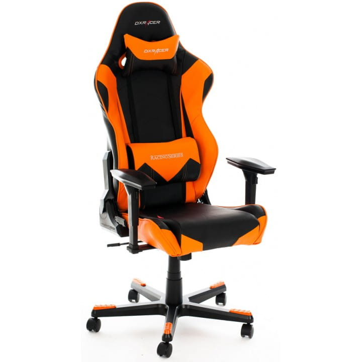 Игровое кресло DXRacer Racing OH/RE0/NO (Black/Orange)