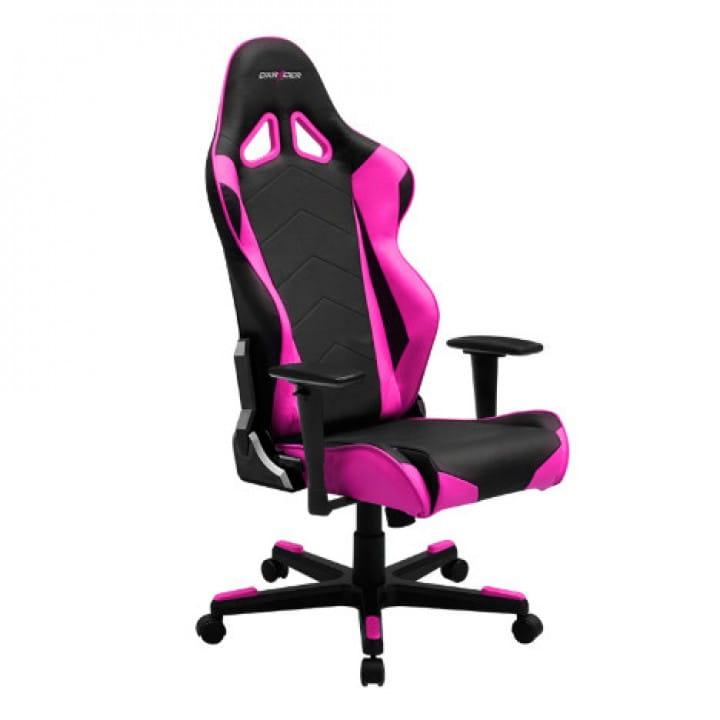 Игровое кресло DXRacer Racing OH/RE0/NP (Black/Pink)