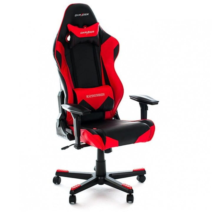 Игровое кресло DXRacer Racing OH/RE0/NR (Black/Red)