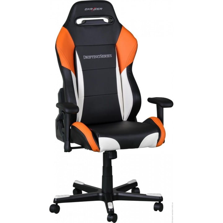 Игровое кресло DXRacer Drifting OH/DM61/NWO (Black/White/Orange)