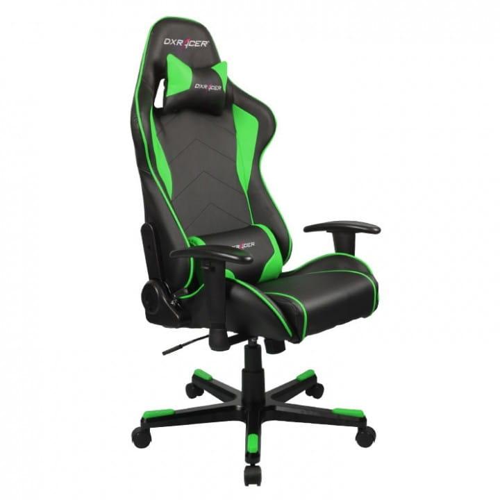 Игровое кресло DXRacer Formula OH/FE08/NE (Black/Green)