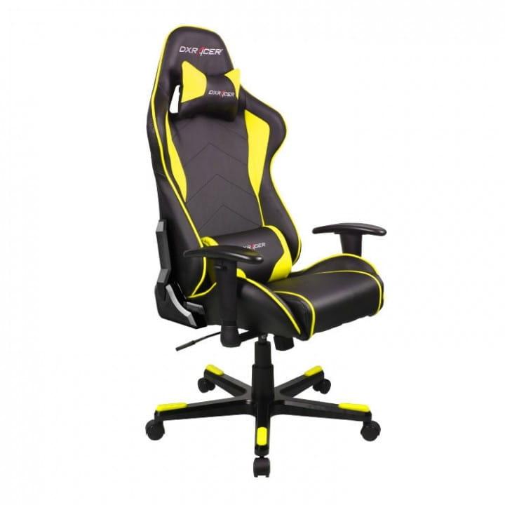 Игровое кресло DXRacer Formula OH/FE08/NY (Black/Yellow)