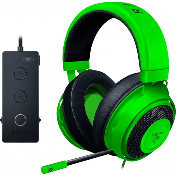 Гарнитура Razer Kraken Tournament, Green