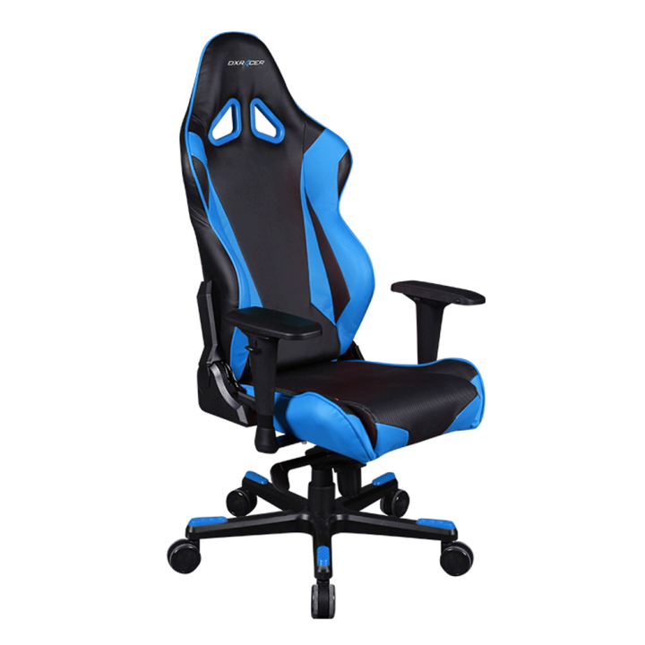 Игровое кресло DXRacer Racing OH/RJ001/NB (Black/Blue)