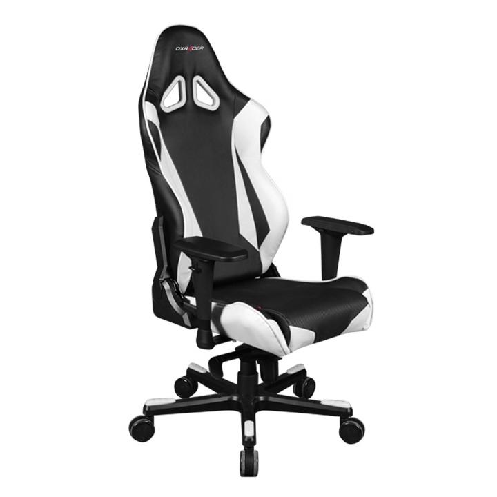 Игровое кресло DXRacer Racing OH/RJ001/NW (Black/White)