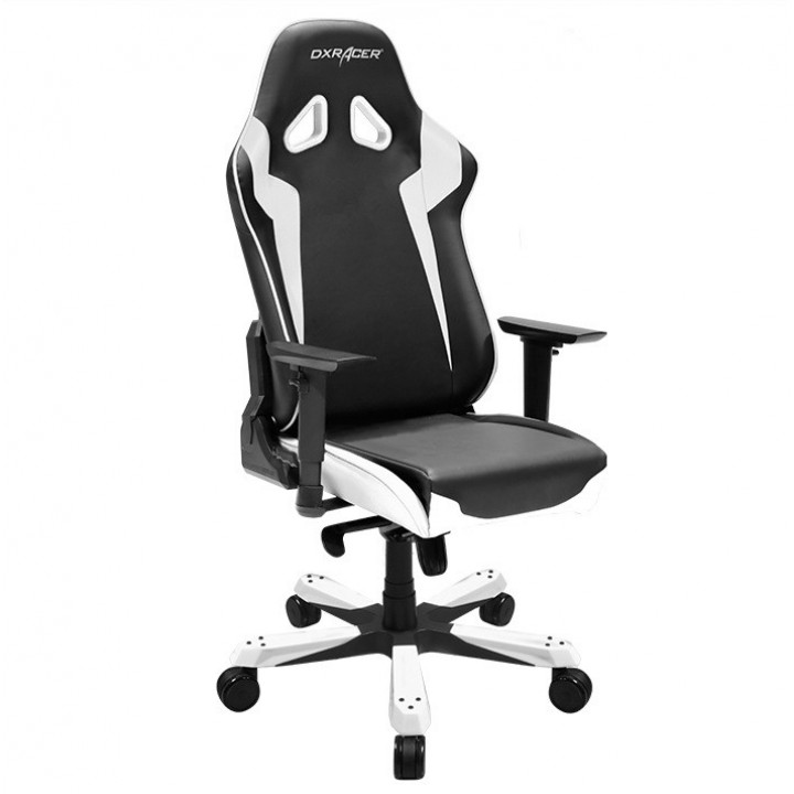 Игровое кресло DXRacer Sentinel OH/SJ00/NW (Black/White)