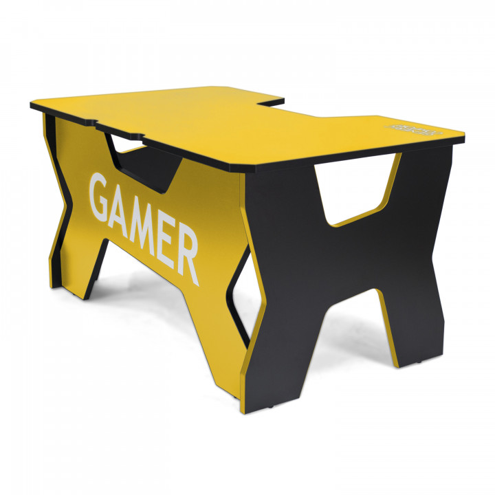 Геймерский стол Generic Comfort Gamer2/NY (Black/Yellow)