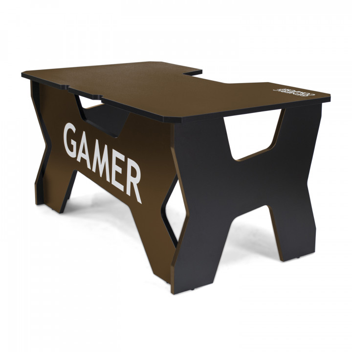 Геймерский стол Generic Comfort Gamer2/NC (Black/Brown)