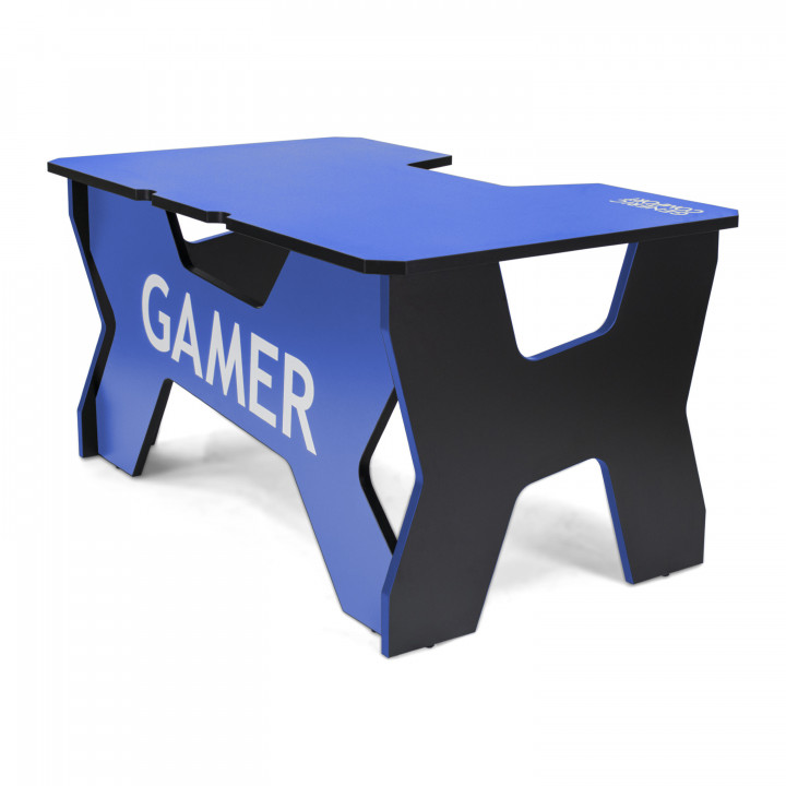 Геймерский стол Generic Comfort Gamer2/NB (Black/Blue)
