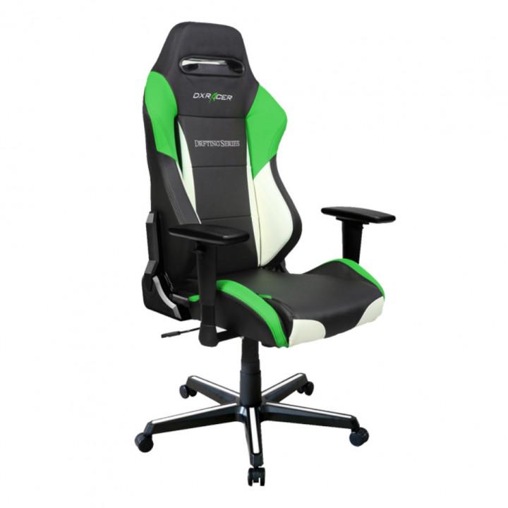 Игровое кресло DXRacer Drifting OH/DM61/NWE (Black/White/Green)