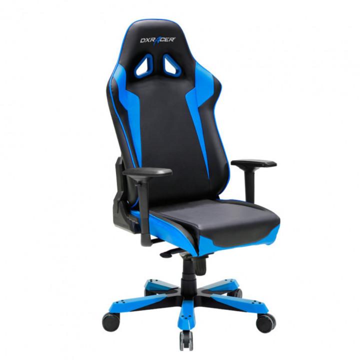 Игровое кресло DXRacer Sentinel OH/SJ00/NB (Black/Blue)