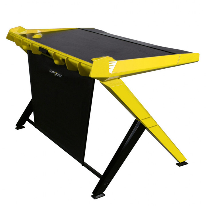 Геймерский стол DXRacer Gaming Desk GD/1000/NY (Black/Yellow)