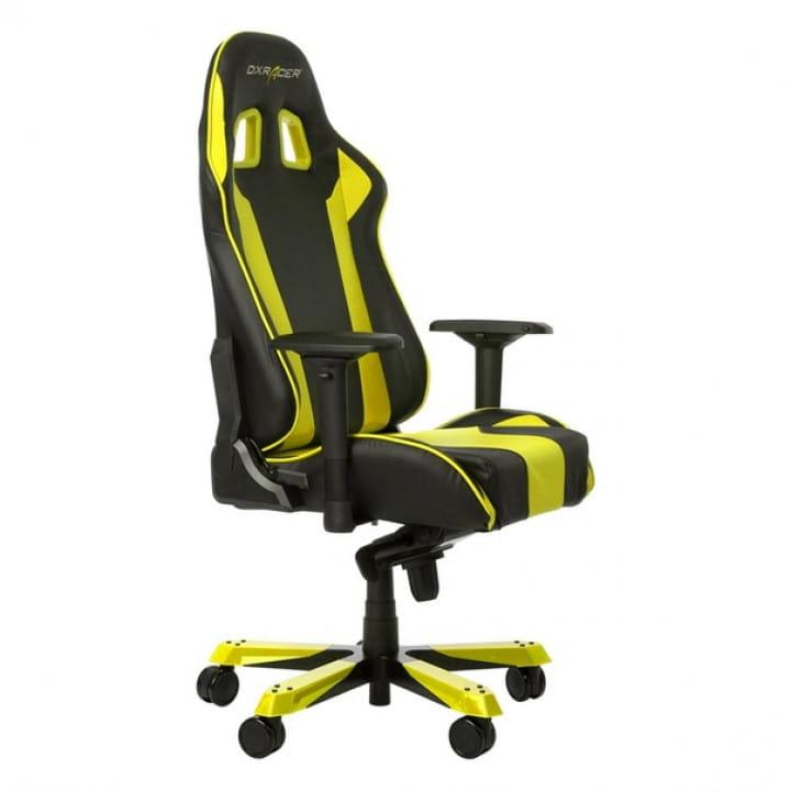 Игровое кресло DXRacer King OH/KS06/NY (Black/Yellow)